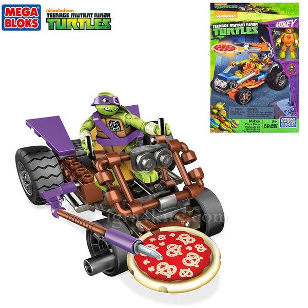 Mega Bloks TMNT - Забавен строител Нинджа състезатели dmx36