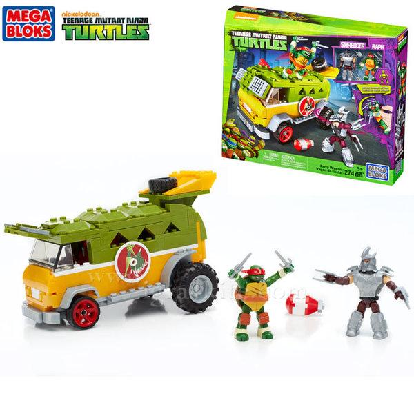 Mega Bloks TMNT - Забавен строител Парти ван на костенурките нинджа dmx54