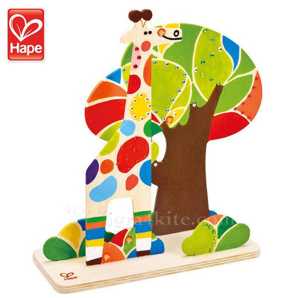 Hape - Приятели в джунглата Оцвети и играй H5109