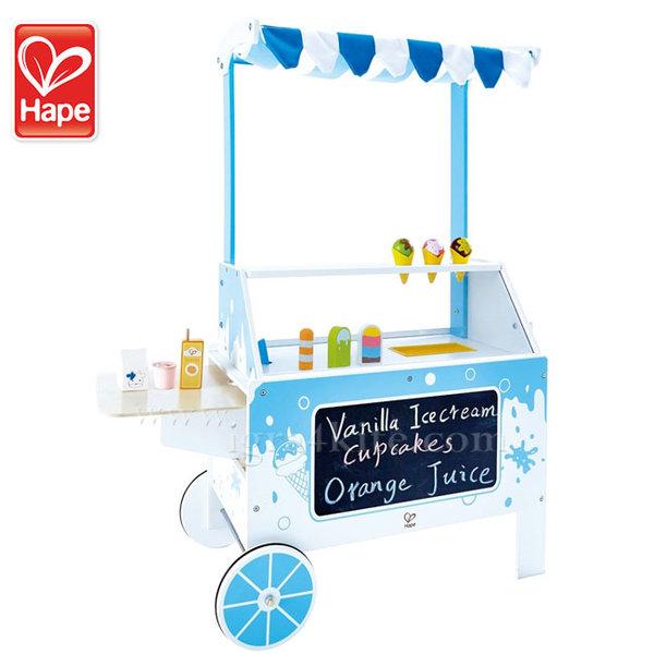 Hape - Дървена количка за сладолед H3139