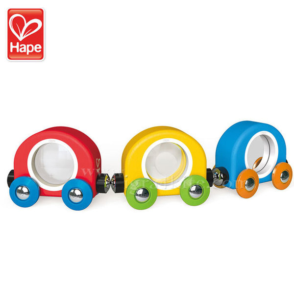 Hape - Дървено влакче Take a Look H3805