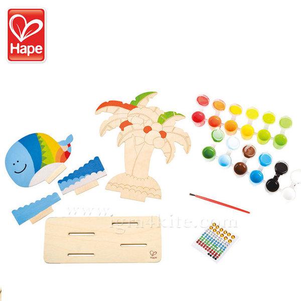 Hape - Тропически остров Оцвети и играй H5110