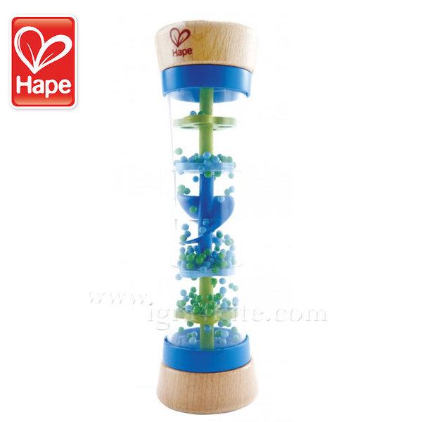 Hape - Дървена играчка с мъниста Дъждовни капки H0328