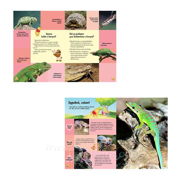 Детска енциклопедия Мечо Пух Влечугите и земноводните 4+