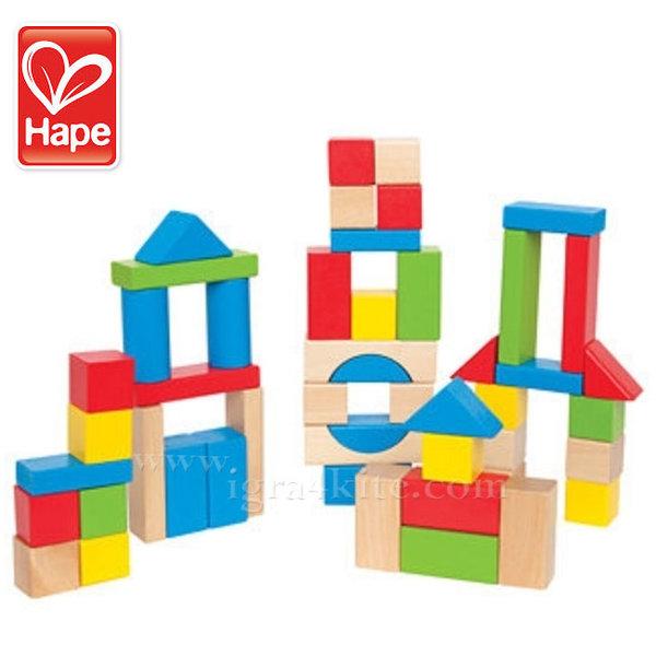 Hape - Строител дървени блокчета H0427