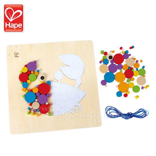 Hape - Дървена мозайка Рак H5113