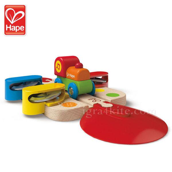 Hape - Влакче Под звуците на тамбурина H3812