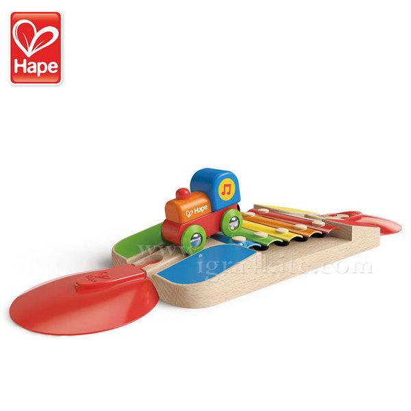 Hape - Влакче Звуците на ксилофона H3813