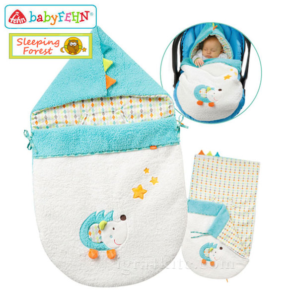 Baby Fehn Sleeping Forest - Чувалче за количка Tаралеж 071627