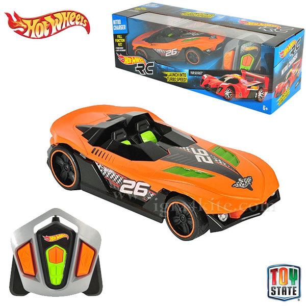 Hot Wheels - Кола Nitro Charger с дистанционно управление Yur So Fast™ 90411