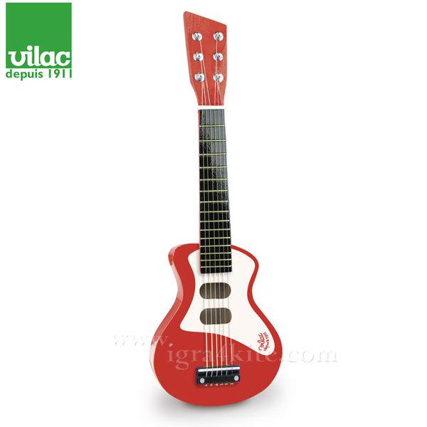 Vilac - Детска дървена рок китара 8327