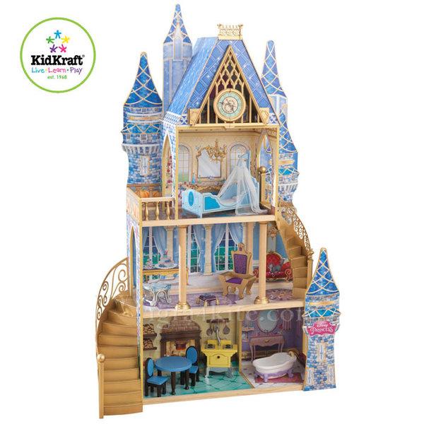 Kidkraft - Дървена куклена къща на Пепеляшка 65400