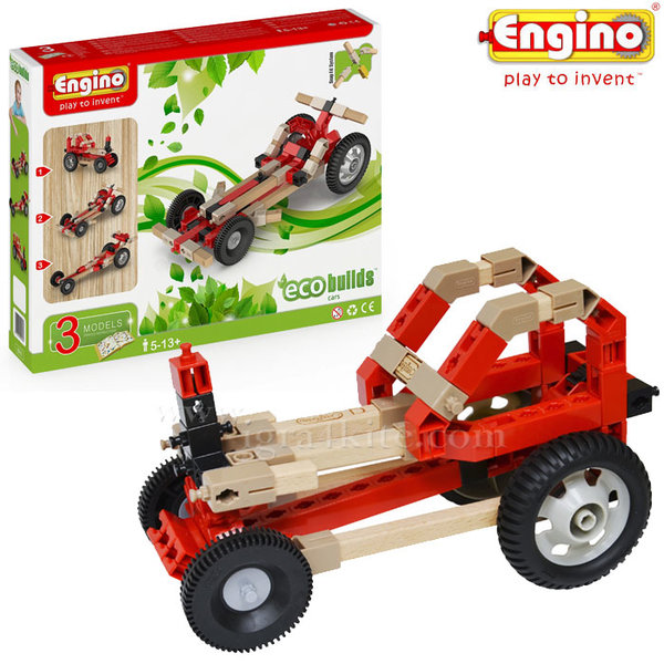 Engino - Конструктор Eco Builds Коли 3в1 EB10