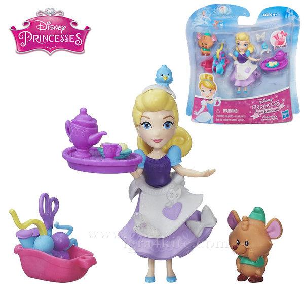 Disney Princess - Мини кукла Пепеляшка с аксесоари b5331