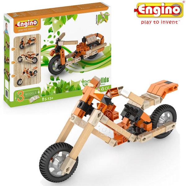 Engino - Конструктор Eco Builds Мотори 3в1 EB11