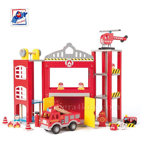 Woody - Дървена пожарна станция 91810