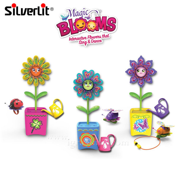 Silverlit - Magic Blooms Интерактивно цвете в саксия 88443