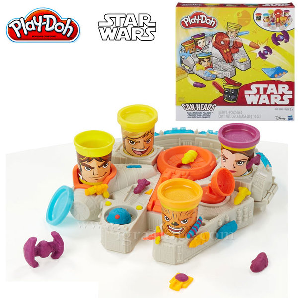 PlayDoh - Star Wars Милениум Фалкон b0002