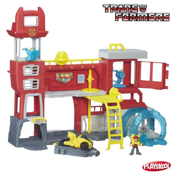 Transformers Playskool Heroes - Главно управление на Роботите Спасители b5210