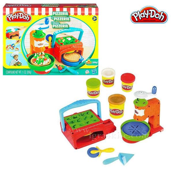 Playdoh - Комплект пластелин Пицария b7418