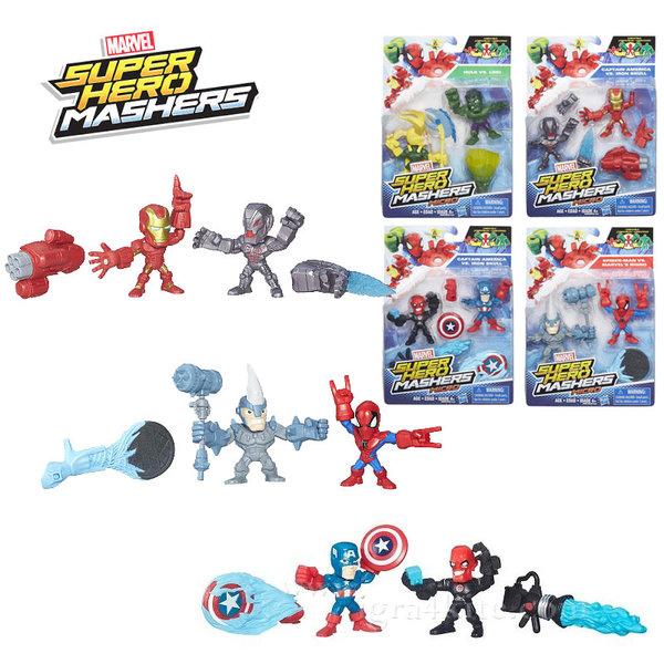 Marvel Avengers - Super Hero Mashers Комплект 2 фигурки b6432