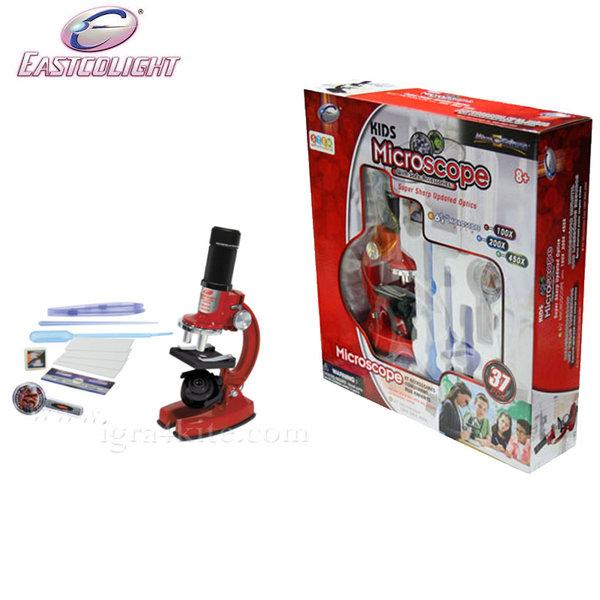 Eastcolight - Детски метален микроскоп 21374