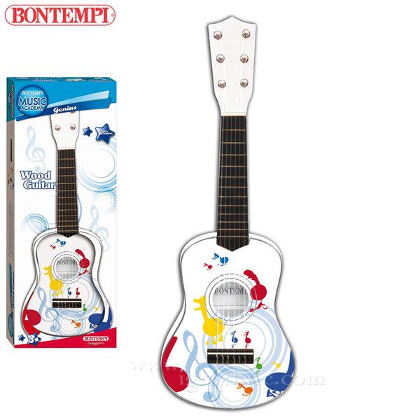 Bontempi - Детска дървена китара 55см 191290