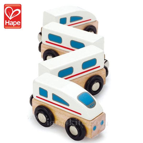 Hape - Дървено скоростно влакче с магнити H0914