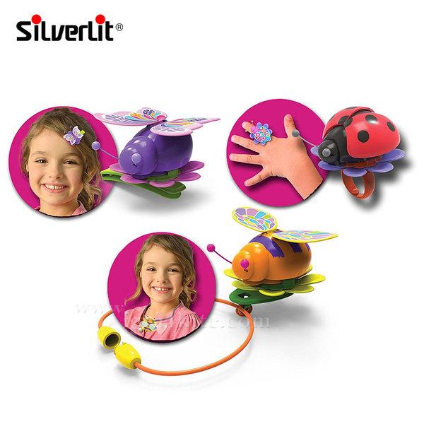 Silverlit - Magic Bugs Интерактивни буболечета 4 броя в комплект 88471