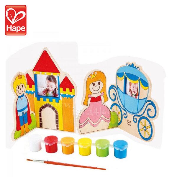 Hape - Детска дървена Приказка Оцвети и играй H5120