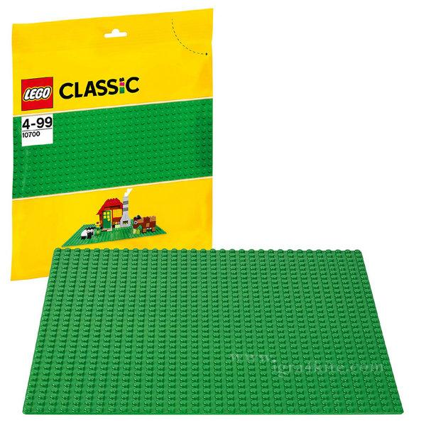 Lego 10700 Classic - Зелена основна плочка 32х32