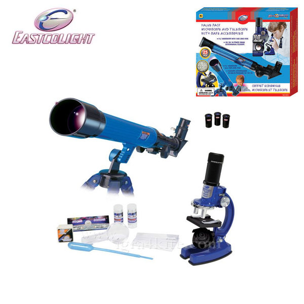 Eastcolight - Комплект микроскоп с телескоп 20351