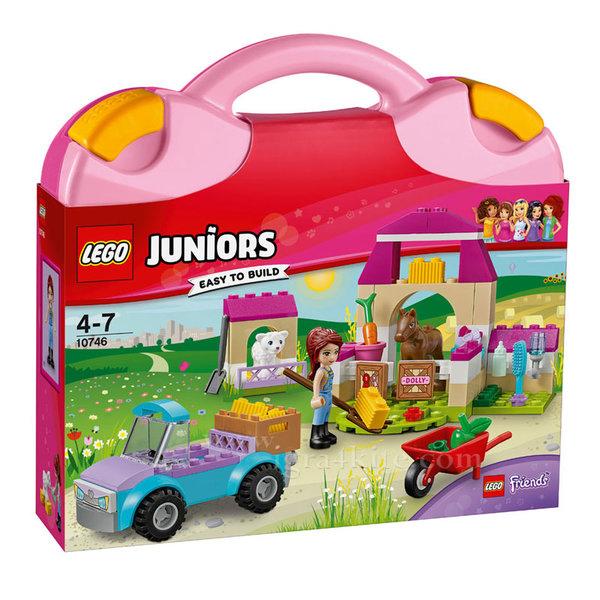 Lego 10746 Juniors Friends - Фермерският куфар на Миа
