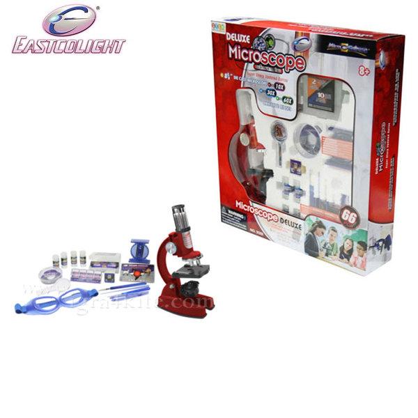 Eastcolight - Детски метален микроскоп 21324