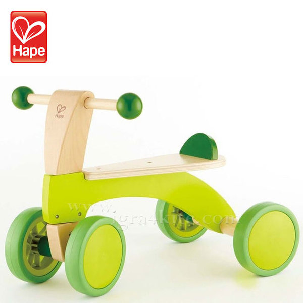 Hape - Детско дървено колело H0101