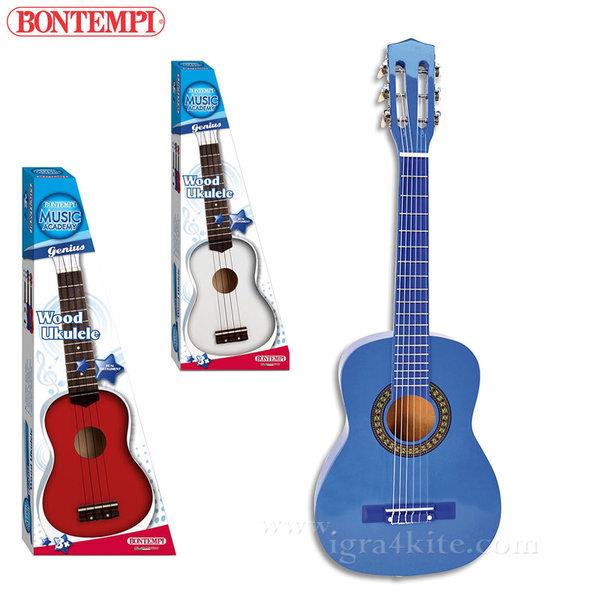 Bontempi - Детско дървено укулеле 191288
