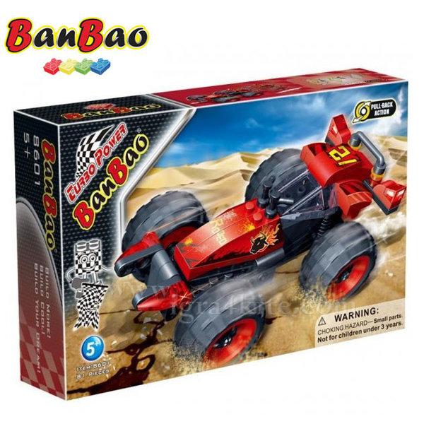 BanBao - Строител 5+ Автомобил Родео 8601