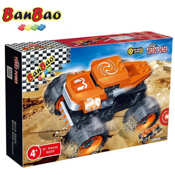 BanBao - Строител 5+ Автомобил Чудовище 8605