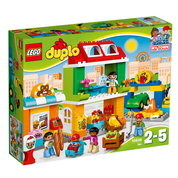 Lego 10836 Duplo My Town - Градски площад