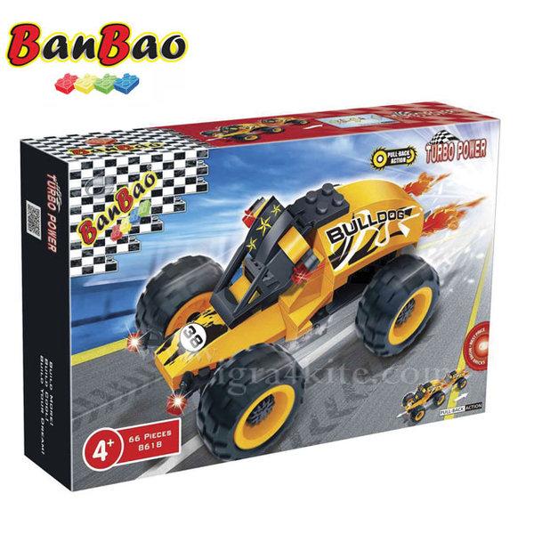 BanBao - Строител 5+ Автомобил Булдог 8618