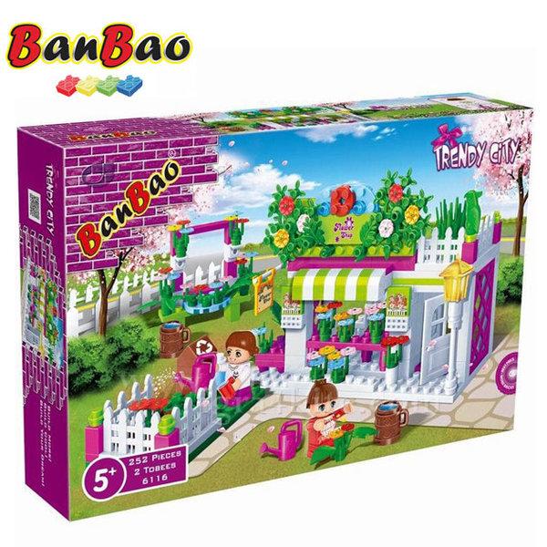 BanBao - Строител 5+ Цветарски магазин 6116