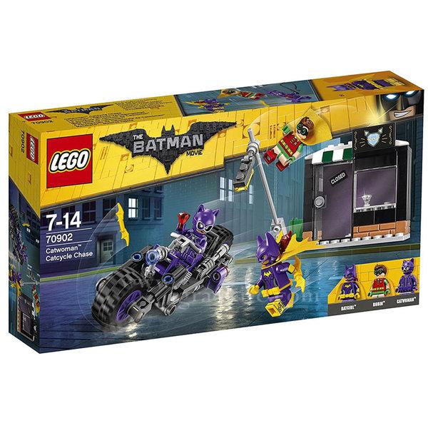Lego 70902 Batman - Преследване с мотор с Жената Котка