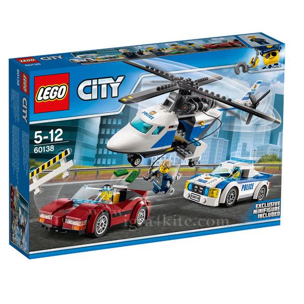 Lego 60138 City - Скоростно преследване