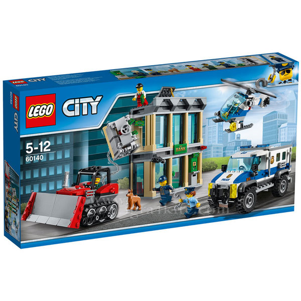 Lego 60140 City - Взлом с булдозер