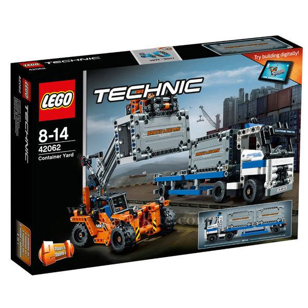 Lego 42062 Technic - Контейнерен терминал