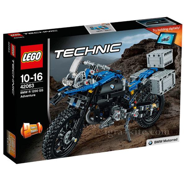 Lego 42063 Technic - BMW R 1200 GS Adventure