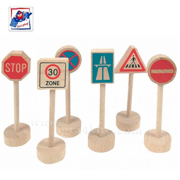 Woody - Дървени пътни знаци 90575