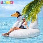 Intex - Надуваем остров Лебед 56287