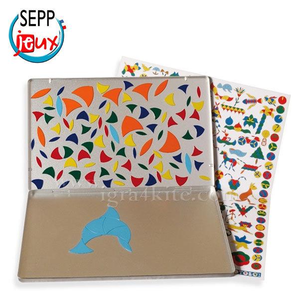 Sepp Jeux - Детска магнитна мозайка за път 4ITBBM6