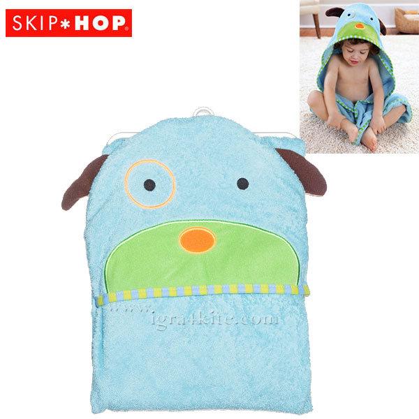 Skip Hop - Бебешка хавлия с качулка Zoo Кученцето Дарби 235255